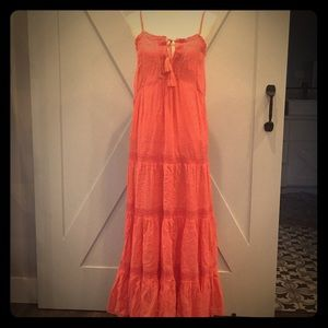 Red herring Coral Maxi Dress